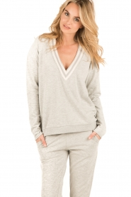 Juvia | Sweater Kim | grijs  | Afbeelding 2