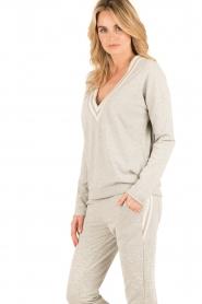 Juvia | Sweater Kim | grijs  | Afbeelding 4