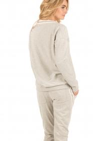 Juvia | Sweater Kim | grijs  | Afbeelding 5