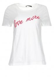 Set |  T-shirt with text Linn | white  | Picture 1