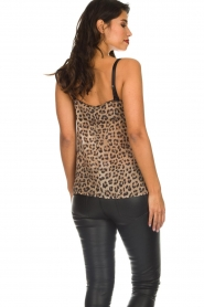 Set |  Sleeveless leopard printed top Channah | brown  | Picture 6