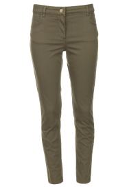 Liu Jo Sport |  Skinny jeans Dezy | green  | Picture 1