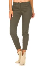 Liu Jo Sport |  Skinny jeans Dezy | green  | Picture 5