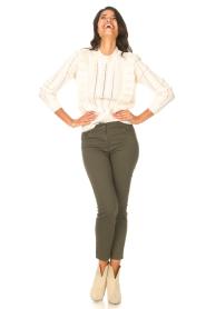 Liu Jo Sport |  Skinny jeans Dezy | green  | Picture 4