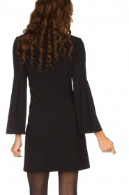 Patrizia Pepe | Sierlijke jurk Mimi | zwart  | Afbeelding 5