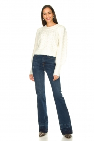 Silvian Heach |  Pearl sweater Adoration | white  | Picture 3