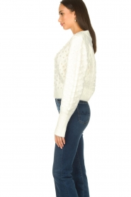 Silvian Heach |  Pearl sweater Adoration | white  | Picture 5