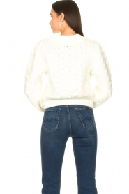 Silvian Heach |  Pearl sweater Adoration | white  | Picture 6