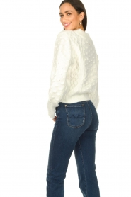 Silvian Heach |  Pearl sweater Adoration | white  | Picture 7