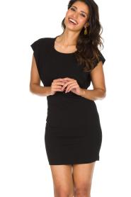 Patrizia Pepe |  Dress Luciana | black  | Picture 4