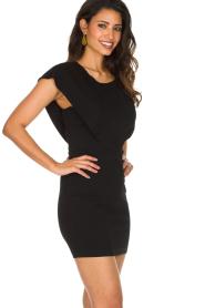 Patrizia Pepe |  Dress Luciana | black  | Picture 5