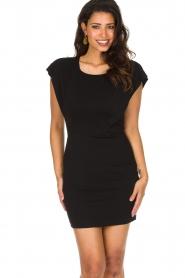 Patrizia Pepe |  Dress Luciana | black  | Picture 2