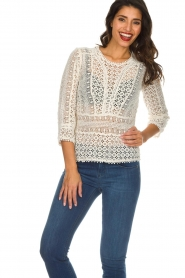 Set |  Lace top Sarella | natural  | Picture 2