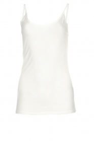 Set |  Sleeveless top Fine | white  | Picture 1