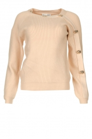 Silvian Heach |  Sweater with button details Abduction | natural  | Picture 1