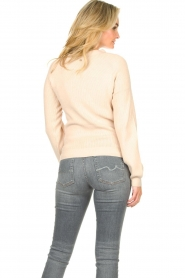 Silvian Heach |  Sweater with button details Abduction | natural  | Picture 6
