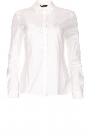 Set |  Classic basic blouse Andy | white  | Picture 1
