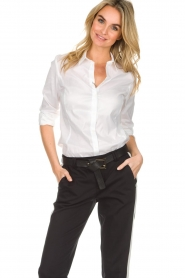 Set |  Classic basic blouse Andy | white  | Picture 2