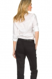 Set |  Classic basic blouse Andy | white  | Picture 6