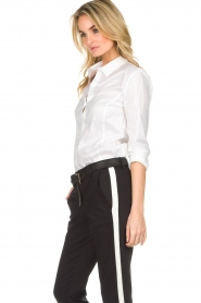 Set |  Classic basic blouse Andy | white  | Picture 5