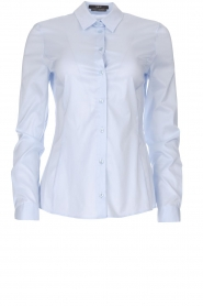 Set |  Classic basic blouse Andy | blue  | Picture 1