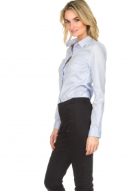 Set |  Classic basic blouse Andy | blue  | Picture 3