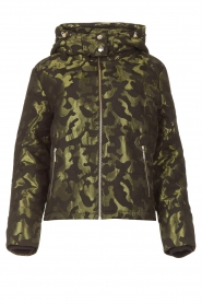 Liu Jo Sport    Jacket with army print Fyn   black    Picture 1