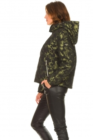 Liu Jo Sport    Jacket with army print Fyn   black    Picture 6