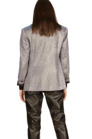 Silvian Heach |  Glitter blazer Changeling | black  | Picture 5