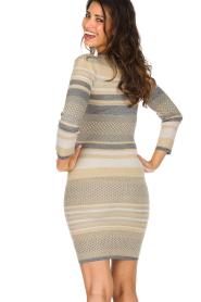 Patrizia Pepe | Glinsterende jurk Maryelle |multi   | Afbeelding 5