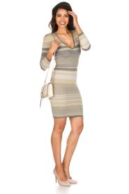 Patrizia Pepe | Glinsterende jurk Maryelle |multi   | Afbeelding 3