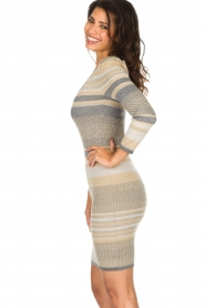 Patrizia Pepe | Glinsterende jurk Maryelle |multi   | Afbeelding 4