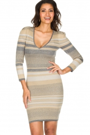Patrizia Pepe | Glinsterende jurk Maryelle |multi   | Afbeelding 2