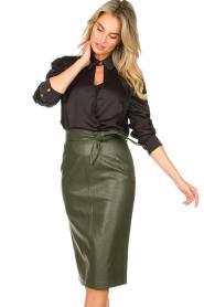 Silvian Heach |  Body blouse Dinosaurus | black  | Picture 2