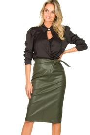 Silvian Heach |  Body blouse Dinosaurus | black  | Picture 4