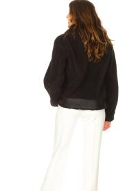 Liu Jo Sport |  Short teddy coat Senna | black  | Picture 6
