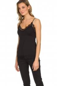 Set |  Sleeveless top with lace Chenna | black  | Picture 4