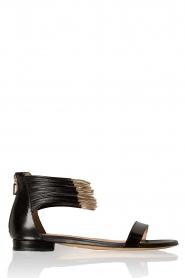 Atos Lombardini | Sandaal Bianca | zwart  | Afbeelding 1