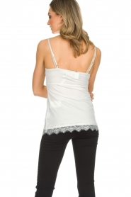 Set |  Sleeveless top with lace Chenna | white  | Picture 5