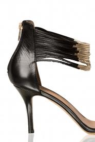 Atos Lombardini | Leren sandalen Scarpa | zwart  | Afbeelding 5