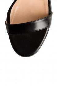 Atos Lombardini | Leren sandalen Scarpa | zwart  | Afbeelding 6