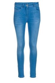 Patrizia Pepe | Skinny jeans Fabiola | Blauw  | Afbeelding 1