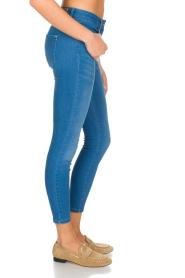 Patrizia Pepe | Skinny jeans Fabiola | Blauw  | Afbeelding 4