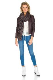 Patrizia Pepe | Skinny jeans Fabiola | Blauw  | Afbeelding 2