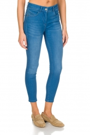 Patrizia Pepe | Skinny jeans Fabiola | Blauw  | Afbeelding 3