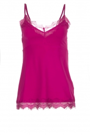 Set |  Sleeveless top with lace Chenna | pink  | Picture 1
