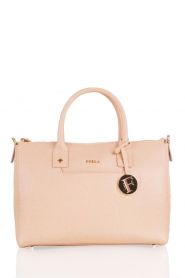 Leather handbag Linda | pink