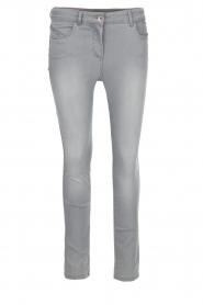 Patrizia Pepe | Skinny jeans Luisa | Grijs  | Afbeelding 1