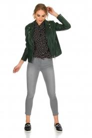 Patrizia Pepe | Skinny jeans Luisa | Grijs  | Afbeelding 3
