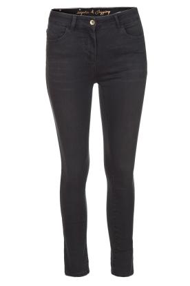 Patrizia Pepe | Skinny jeans Camilla | Zwart  | Afbeelding 1